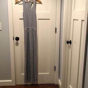 J Crew Maxi Stripe Dress